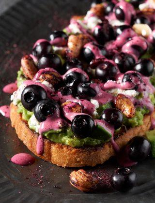 Blueberry Avocado Toast
