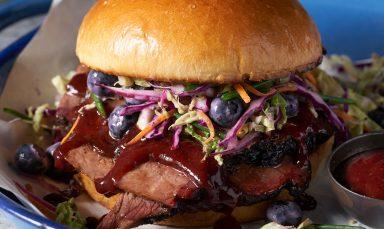 Blueberry Brisket Sandwich