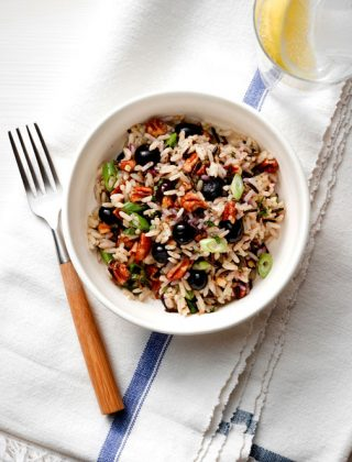 Blueberry-and-Wild-Rice-Salad