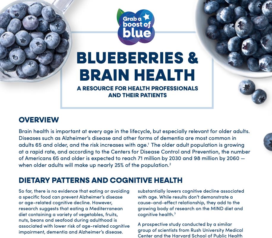 Brain Health Materials