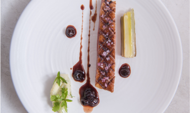 Blueberry Salted Duck