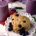 Apricot-Filled Blueberry Biscuits